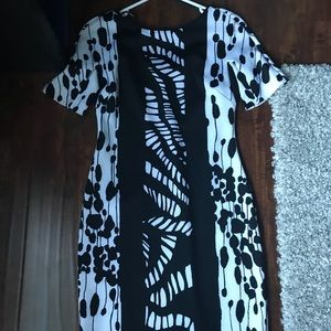 Marc Jacobs designed white and black dress!